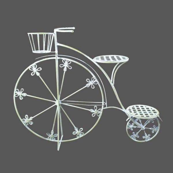 Bicicleta Flores (91x20x72cm) - pistache