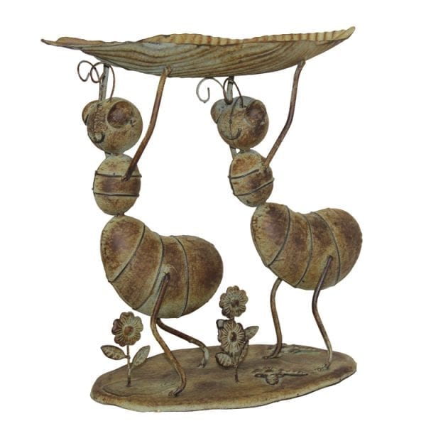 Formiga Corta-Folhas (40x21x40cm) - vintage bronze