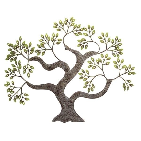 Árvore Estilizada (89x2,5x71cm) - bronze