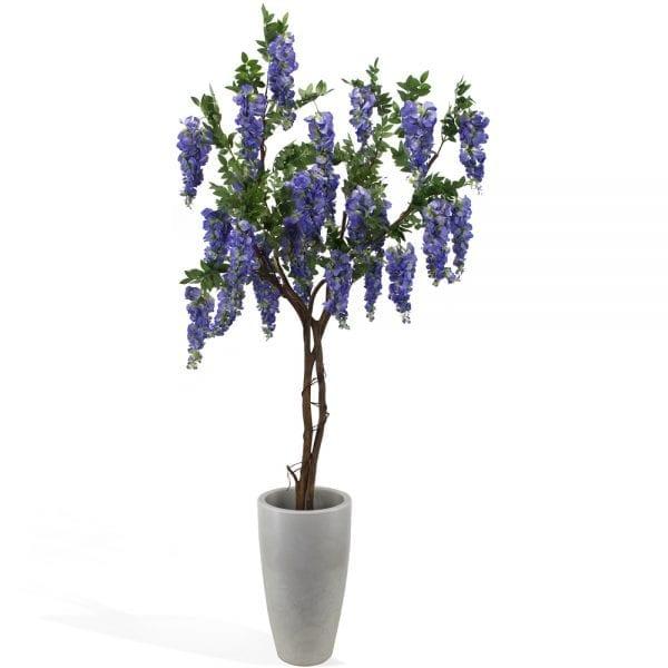 Wisteria artificial (árvore 1,80m) - azul