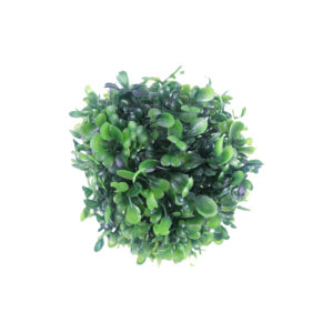 Bola de Buxinho artificial (10cm) - verde