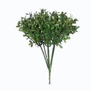Melissa mini permanente x6 (galho 22cm) - verde