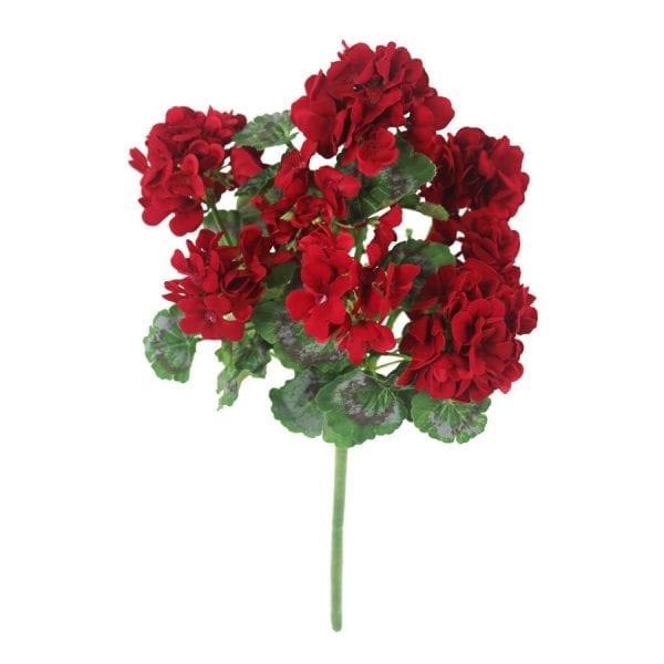 Gerânio vermelho 8FL 45cm