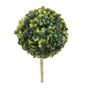 foto de topiaria verde buxinho artificial